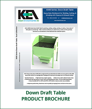 Product Brochure - Down Draft Table
