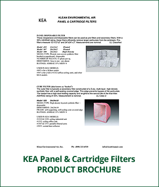 KEA Panel & Cartridge Filters